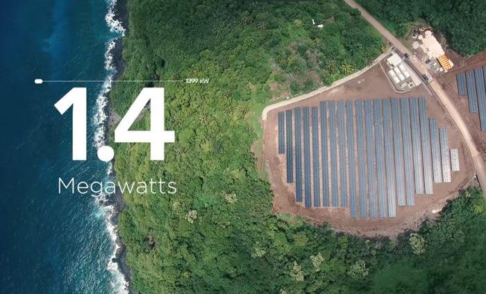 Solarna wyspa dzięki Tesla i SolarCity